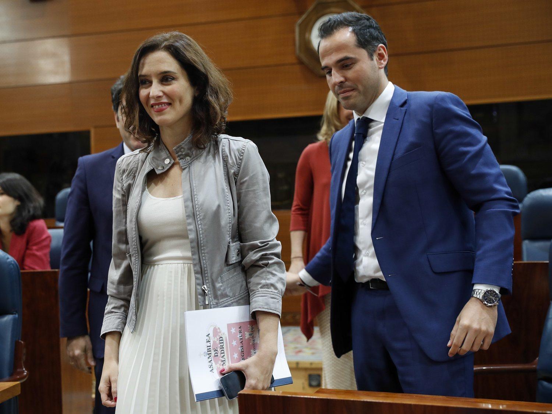 """C's sospecha que el PP de Ayuso """"vuelve a hacer de las suyas"""" en la Comunidad de Madrid"""