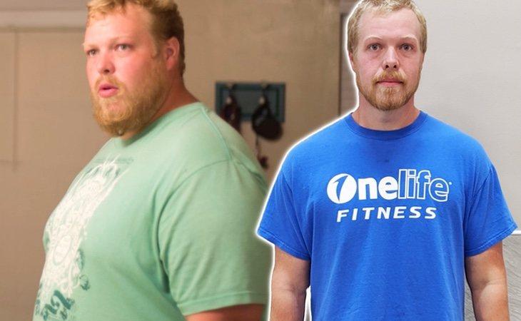 Eric Clarke ha perdido 90 kilos gracias a una sencilla rutina de ejercicios
