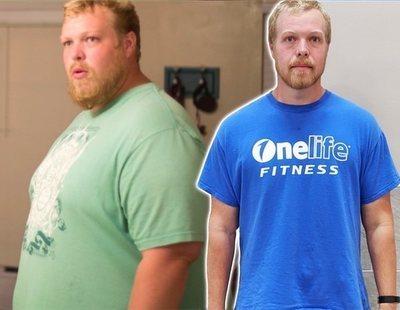 La sencilla rutina de ejercicio físico que ayudó a este hombre a perder 90 kilos