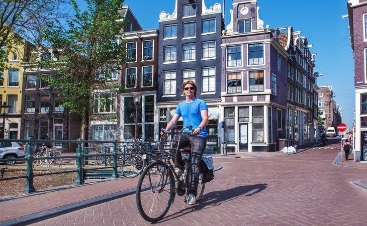El progresivo desmantelamiento del tráfico contaminante ha convertido a Ámsterdam en una de las ciudades menos contaminadas de Europa