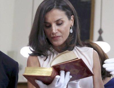 Así es el místico libro sobre la reina Letizia que solo se vende por Amazon
