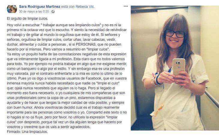 Texto de Sara Rodríguez