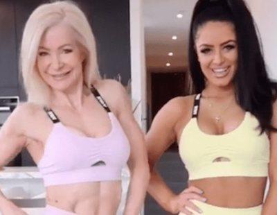 La abuela fitness influencer que triunfa en Instagram haciendo ejercicio con su nieta