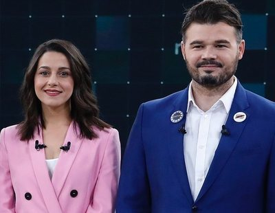 Gabriel Rufián defiende a Inés Arrimadas ante los ataques tras el anuncio de su embarazo