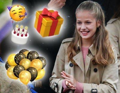 Entre amigos y familia: Así celebra la princesa Leonor su 14 cumpleaños en Halloween