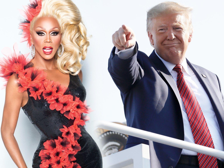 """""""Rupublicanos"""": el partido de RuPaul que ha creado el mismísimo Donald Trump"""