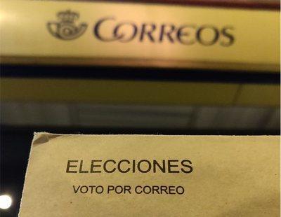 El voto por correo cae un 30% para las elecciones del 10-N