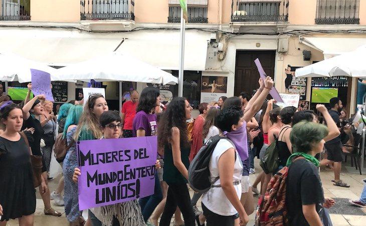 Protestas por la violación de 'La Manada'