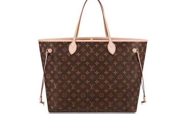 El Neverfull Monogram de Louis Vuitton, de 990€