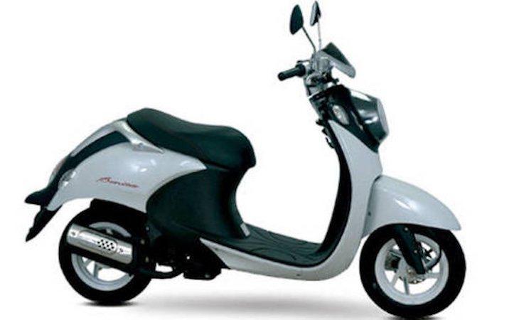 La moto de Victoria Federica es una Daelim Bonita 50