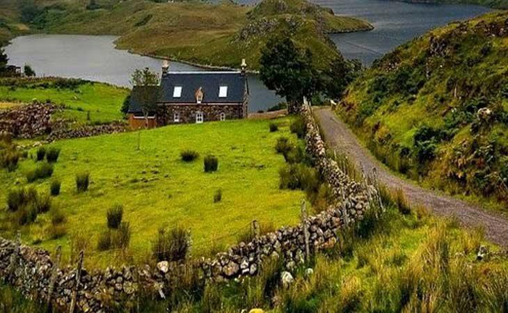 Propiedades sin dueño en Escocia buscan heredero