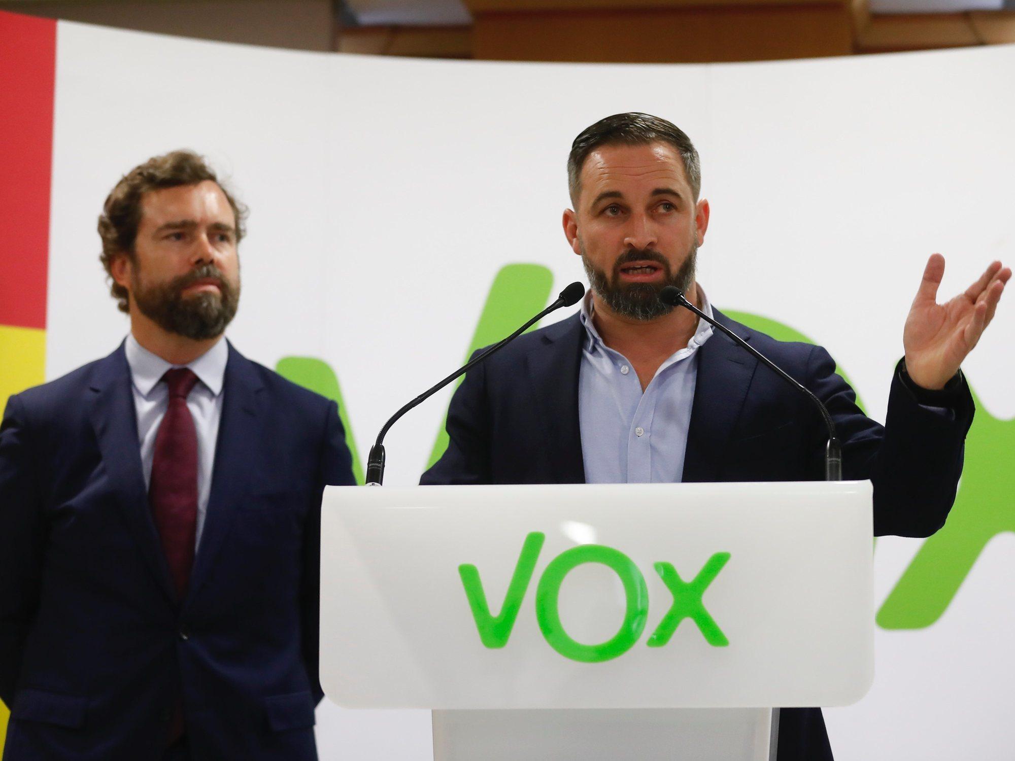 VOX, el partido que más sube en las elecciones del 10-N hasta consolidarse en la tercera posición