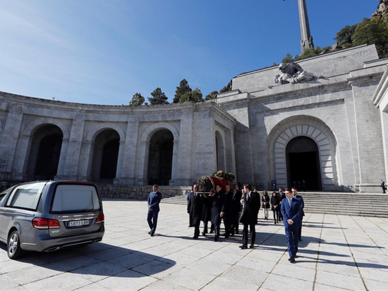 El elemento que honra a Franco en el Valle de los Caídos que el Gobierno no ha retirado