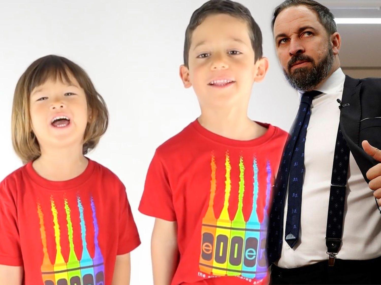 """Mi familia no se toca"": dos hijos de padres homosexuales dicen '¡basta!' a Santiago Abascal"
