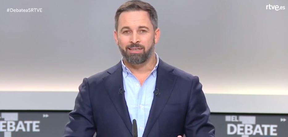 Abascal anuncia la intervención de TV3 y la ilegalización de partidos independentistas: