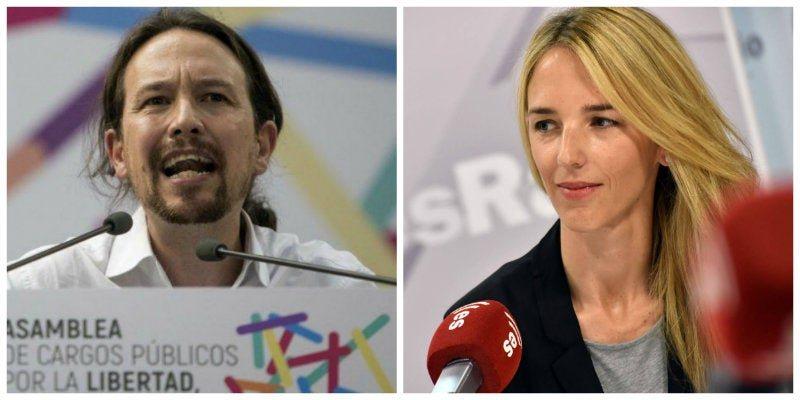 Iglesias carga contra Cayetana Álvarez de Toledo: