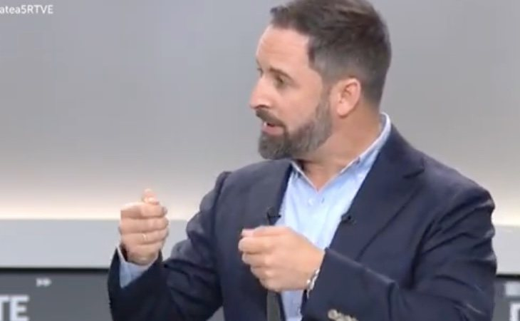 Santiago Abascal, sobre las personas que llegan a España: