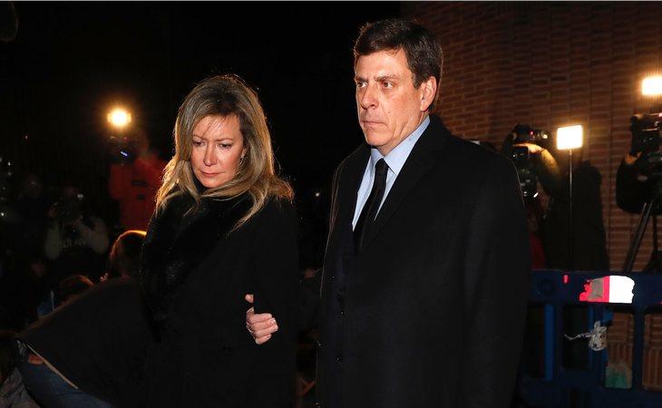 Los enfrentamientos públicos entre Diana López-Pinel y Juan Carlos Quer empezaron en 2016 con la custodia de su hija Valeria, aunque la última vez que se les vio unidos fue durante el funeral de Diana Quer en enero de 2018