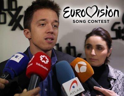 """Errejón califica Eurovisión como """"bochorno"""" para compararlo con el último debate electoral"""