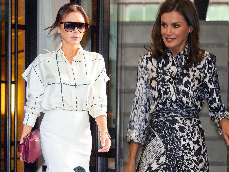 El mensajito de Victoria Beckham tras ver a la reina Letizia vistiendo uno de sus diseños