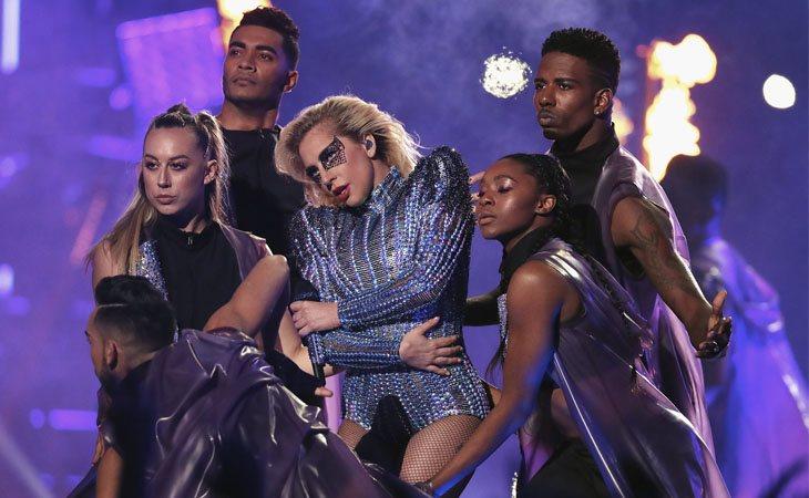 Lady Gaga en el halftime de la Super Bowl 2017