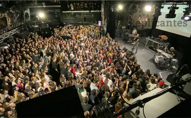 El Teatro Barceló (Madrid) agotó sus entradas para ver a Mahmood el pasado 6 de noviembre