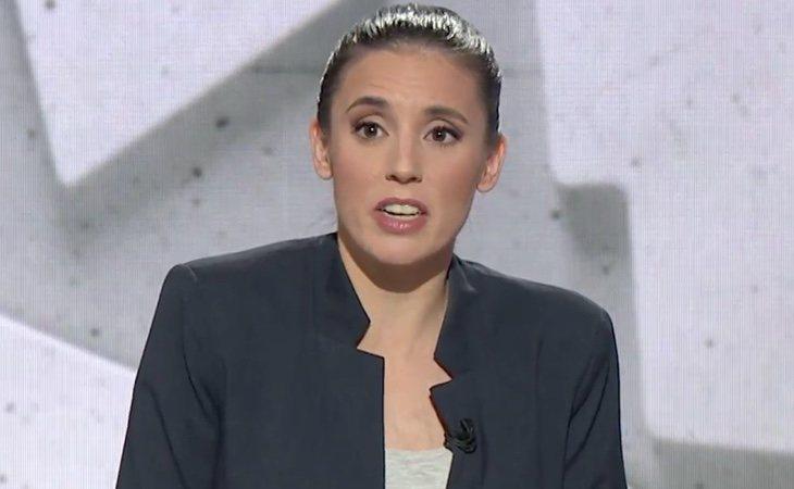 Irene Montero: 'Hay que el salario mínimo a 1.200 euros y establecer jornadas laborales de 34 horas'