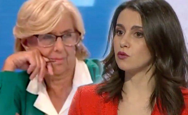 Inés Arrimadas dice que la culpa de los desorbitados alquileres es de Manuela Carmena