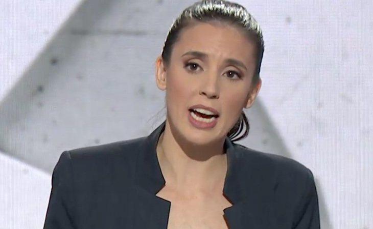 Irene Montero, primera en mencionar al colectivo LGTBI después del silencio de los candidatos