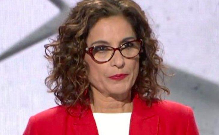 María Jesús Montero (PSOE) apela en su minuto de oro a las mujeres: 'Son tus derechos los que están en juego'