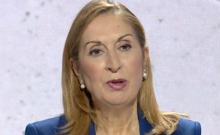 Ana Pastor en su minuto de oro: