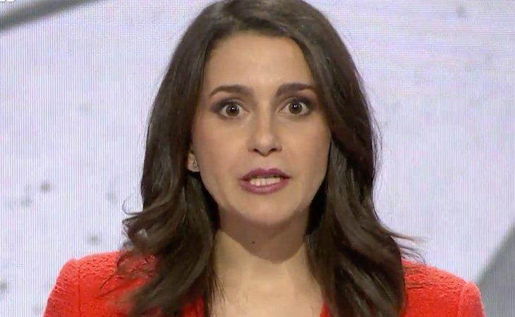 Inés Arrimadas, en su minuto de oro: