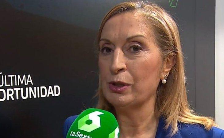 Ana Pastor (PP) no se moja: 'Mi pacto es con los españoles'