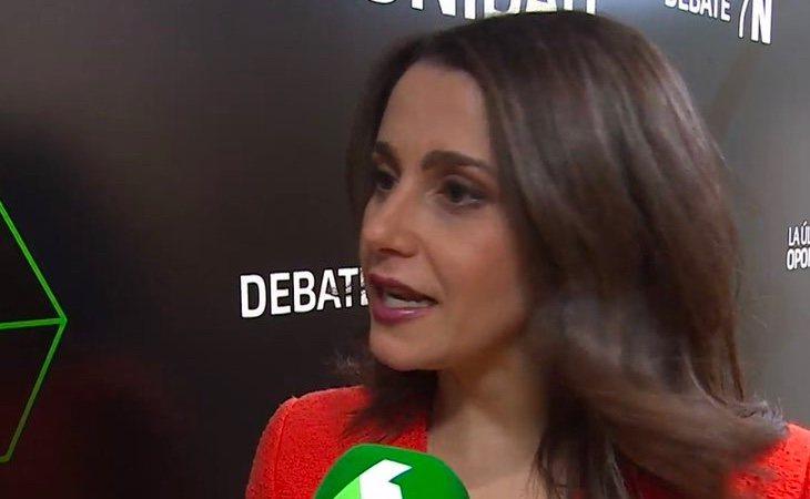 Inés Arrimadas deja claro que no pactará con Pedro Sánchez, que Ciudadanos pactará con el PP
