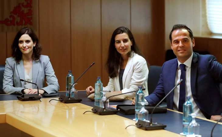 El tripartito de derechas PP, Ciudadanos y VOX