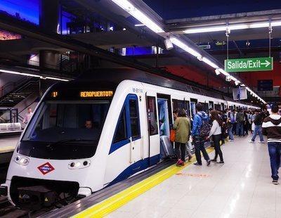 Un guardia civil consigue frenar un ataque con machete en el Metro de Madrid