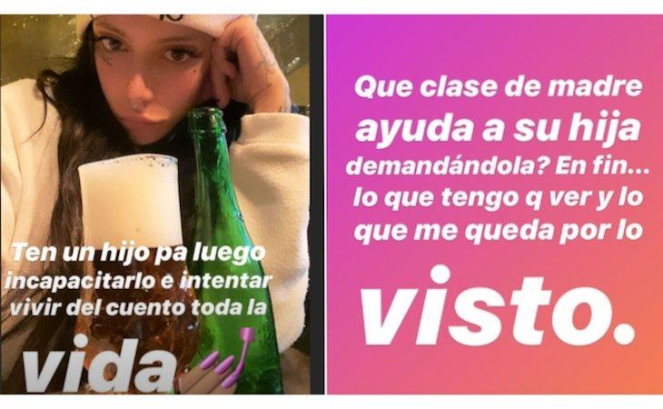 Valeria no tardó en pronunciarse en redes sociales