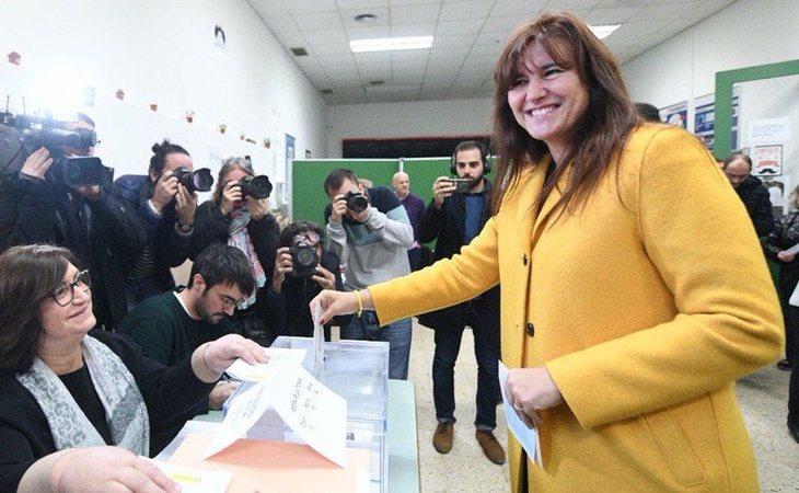 Laura Borràs (JuntsXCat) ya ha votado: