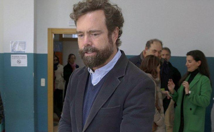 Vota Iván Espinosa de los Monteros (VOX):