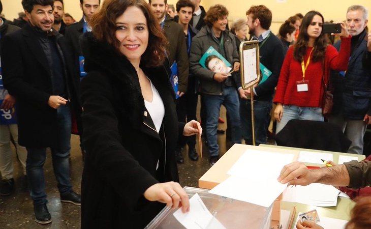 Isabel Díaz Ayuso, presidenta de la Comunidad de Madrid: Que todos los españoles puedan votar con tranquilidad, con seguridad y en libertad