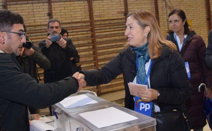 Ana Pastor (PP), tras votar: