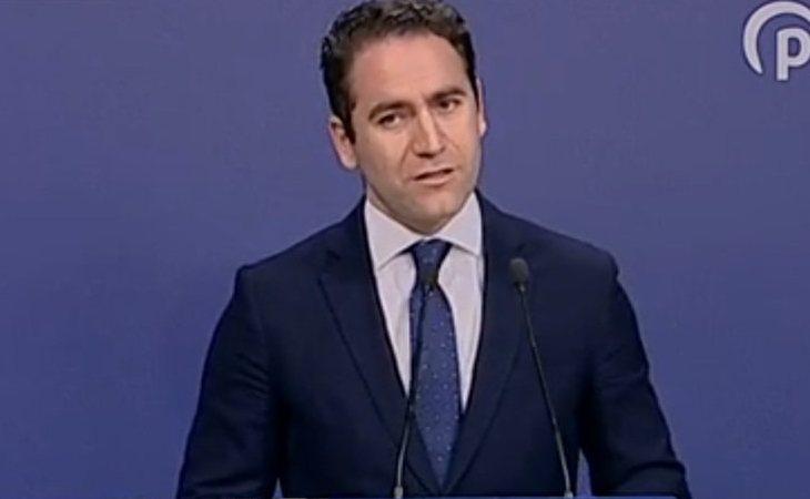 Teodoro García Egea, secretario general del PP: