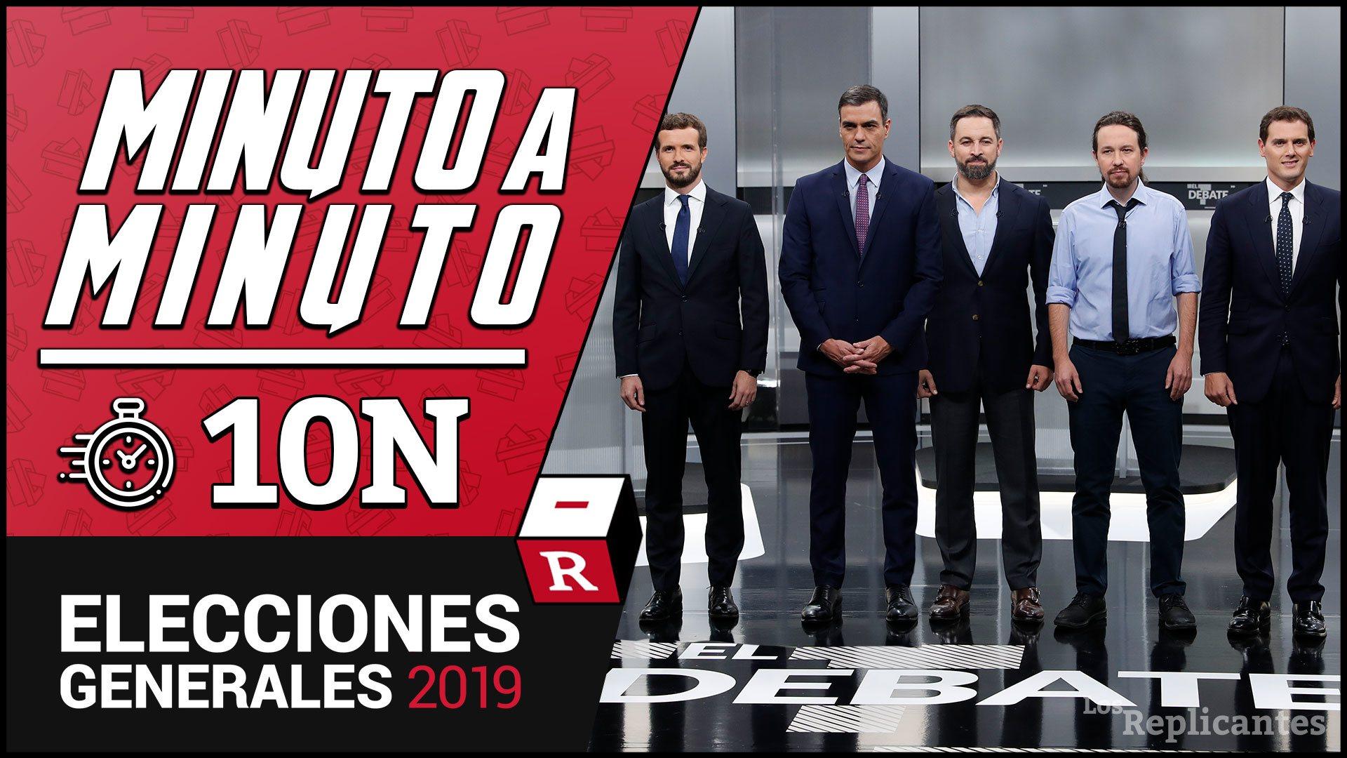 57,13% escrutado: PSOE (124), PP (85), VOX (50), UP (35), ERC (13), Cs (10), JxCAT (8), PNV (7), EH Bildu (5), Más País (3), CUP (2)