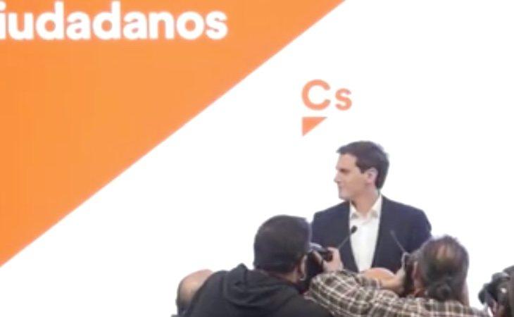 Albert Rivera comparece en la sede de Ciudadanos para anunciar su dimisión