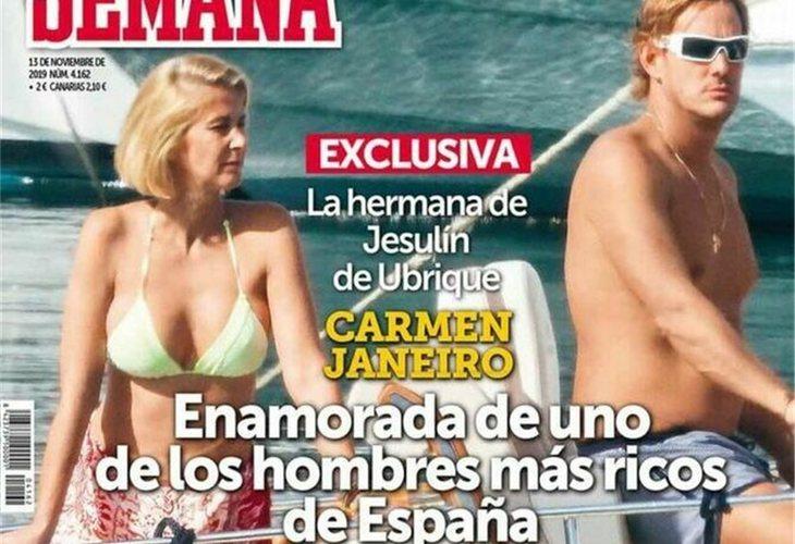 La hermana del torero estaría manteniendo un romance con Luis Masaveu Herrero, cuya familia es una de las más ricas del país