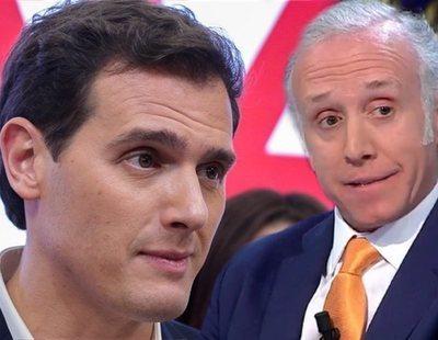 """Eduardo Inda habla sobre Rivera tras su dimisión: """"La vida caótica que lleva es un desastre"""""""
