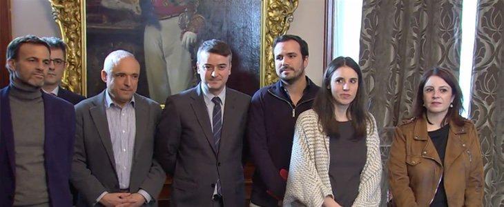 Todo preparado para anunciar el Gobierno de coalición entre PSOE y PP