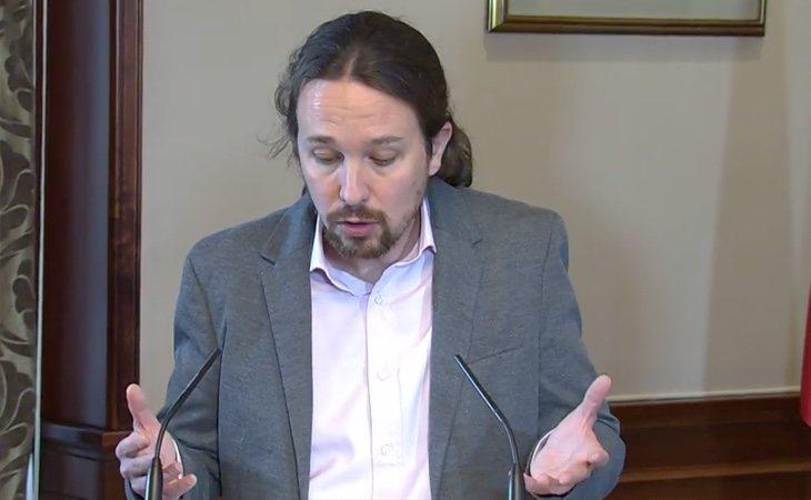 Iglesias: 'Vamos a combinar la experiencia del PSOE con la valentía de Unidas Podemos, vamos a hacer políticas progresistas para frenar a la ...
