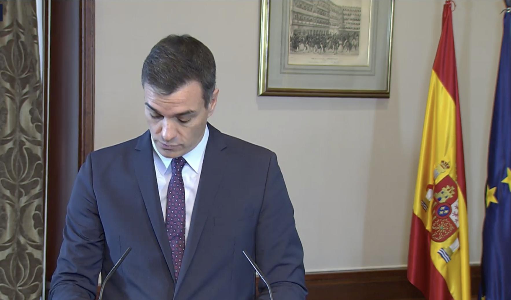 Sánchez anuncia que iniciará una ronda para sumar apoyos parlamentarios. Podemos habría garantizado la abstención de ERC y Bildu