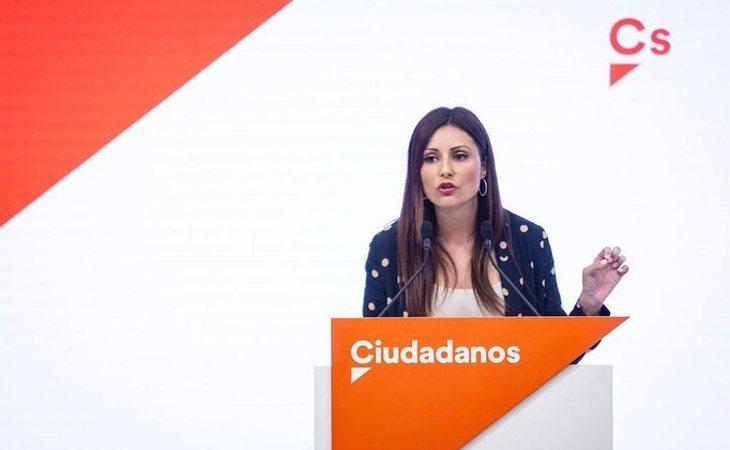 Lorena Roldán es portavoz de la Ejecutiva de Ciudadanos
